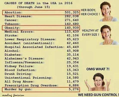 Second Amendment less dangerous than other Proggie beliefs