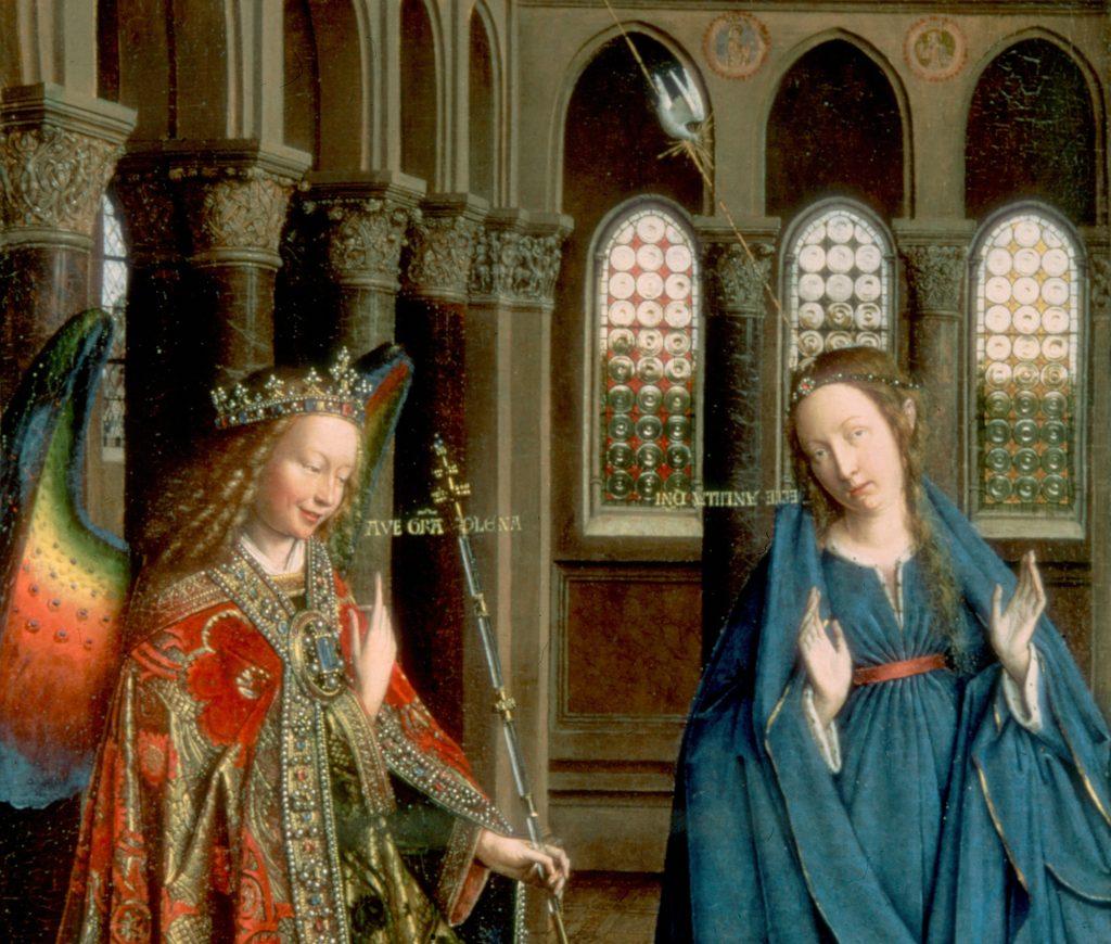 Jan van Eyck The Annunciation