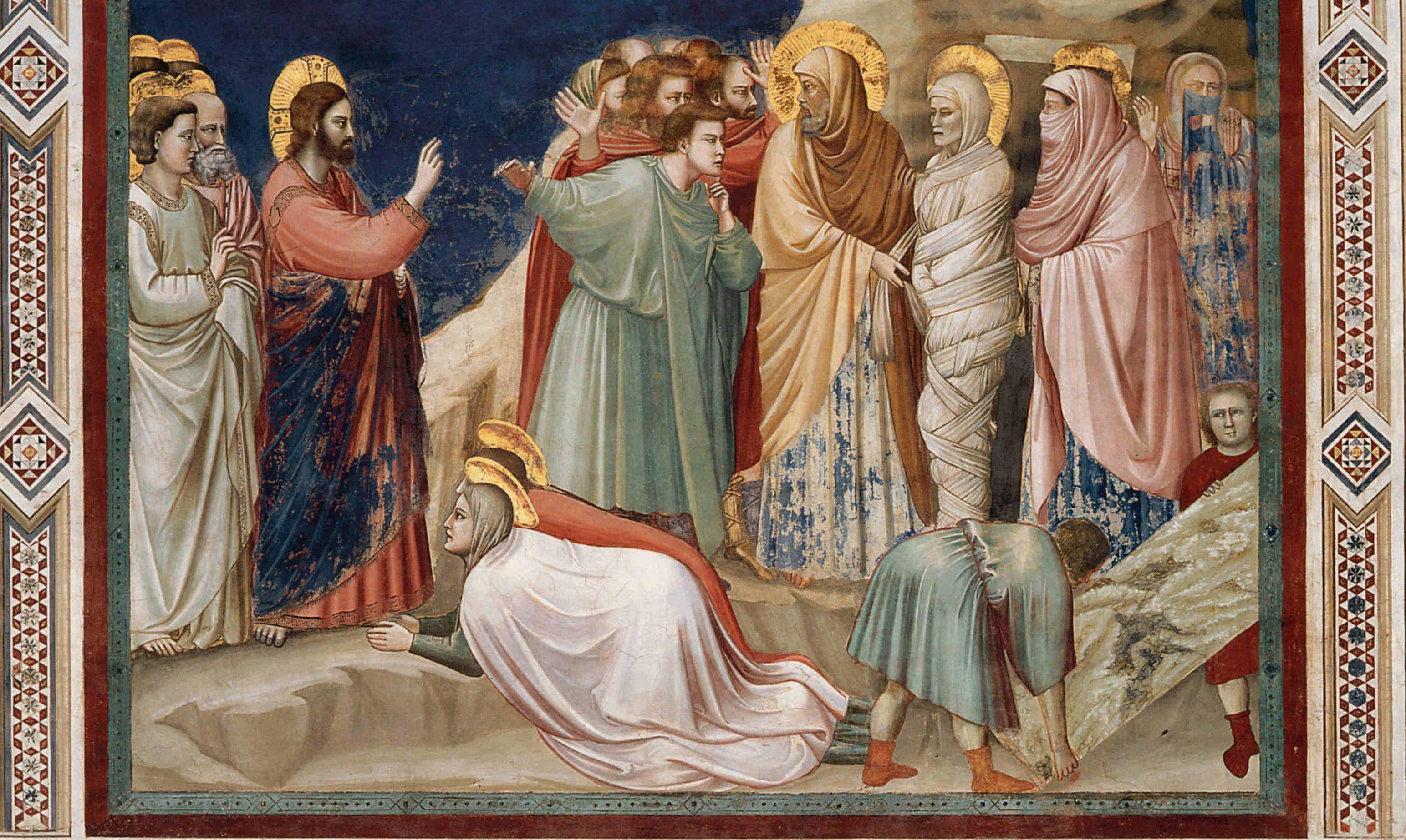 Jesus Christ Raising Lazarus