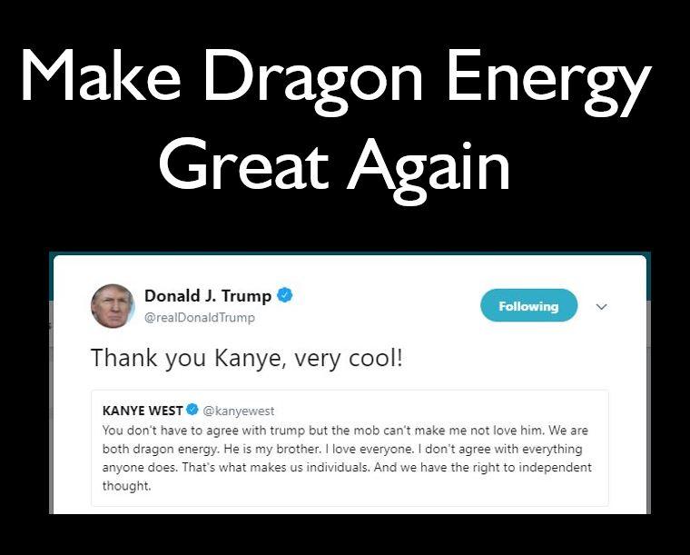 Kanye West Dragon Energy