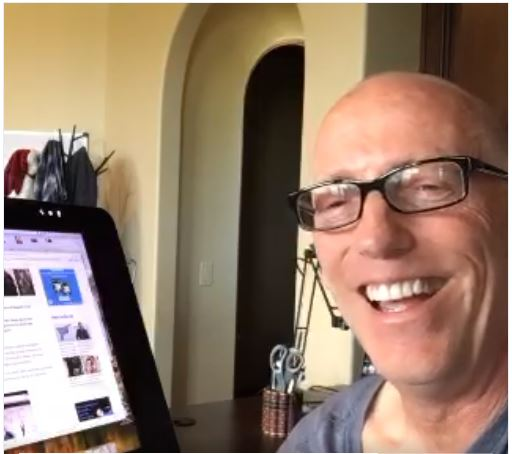 Scott Adams on fake news in real time