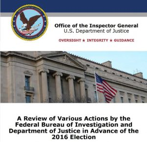 The IG Report on Hillary
