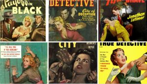 Rape Pulp Magazine covers