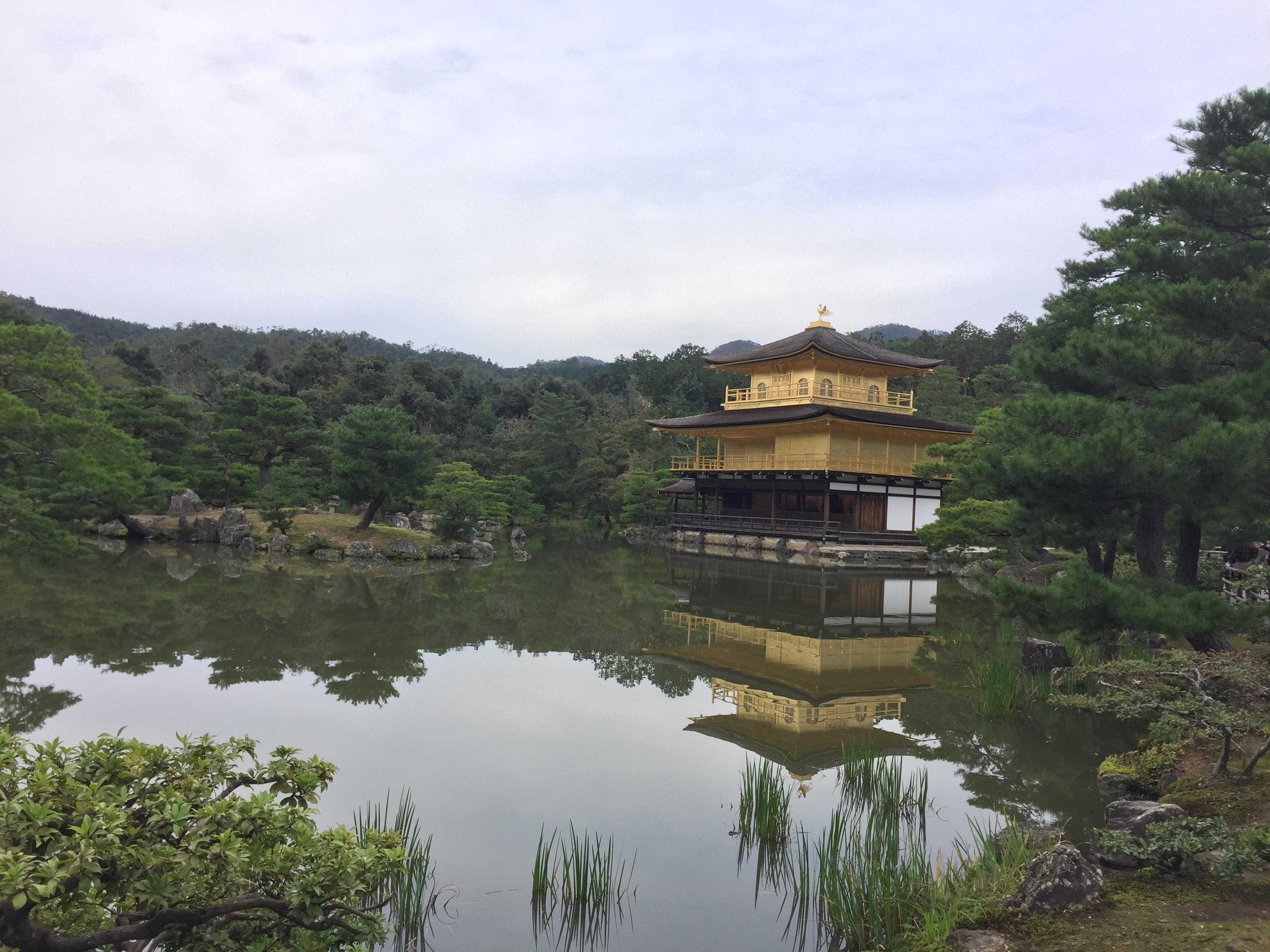Japan Golden Temple Kyoto Kinkaku-ji