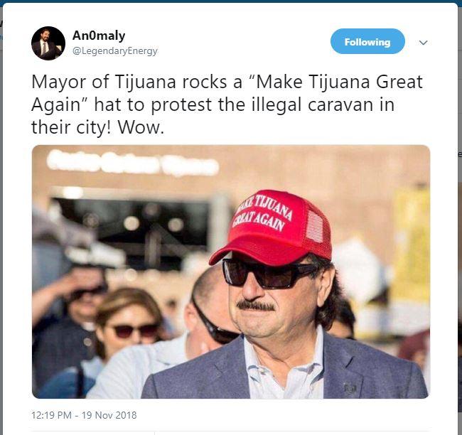 Mayor of Tijuana Make Tijuana Great Again
