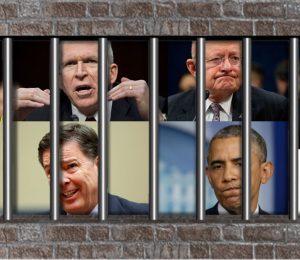 Obstruction Collusion Brennan Comey Obama Clapper