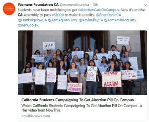 Abortion Colleges Universities