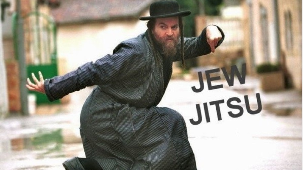 Jews Self-Defense JewJitsu
