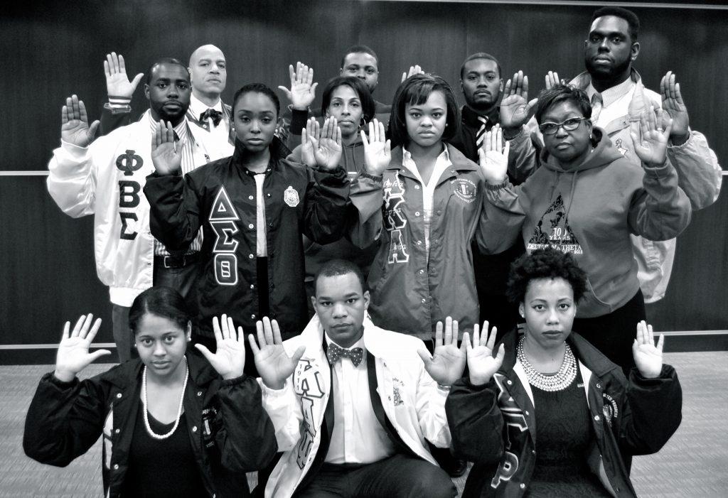 Black Lives Matter Hands Up Don't Shoot