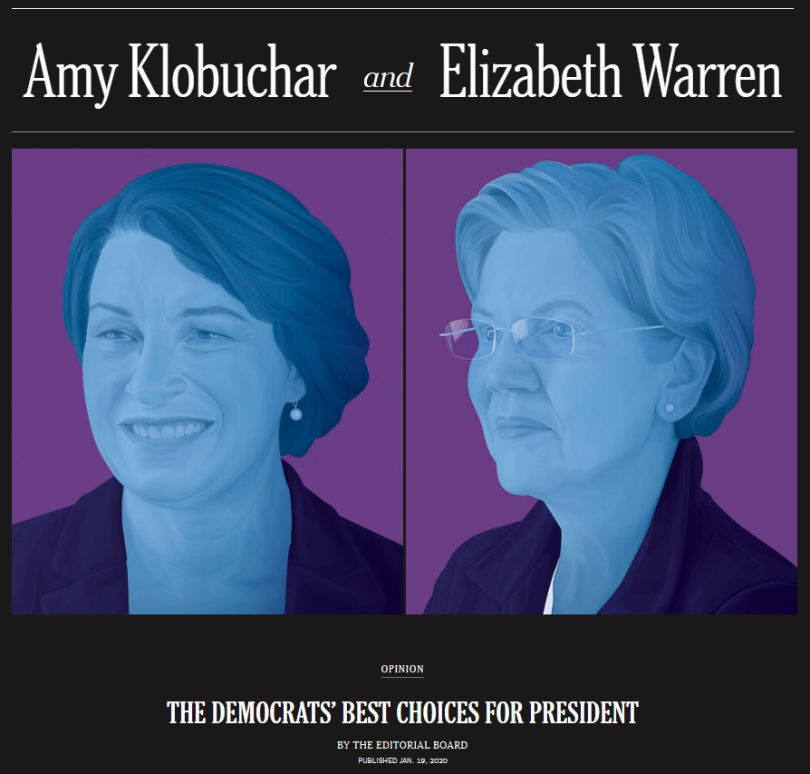 New York Times Warren Klobuchar