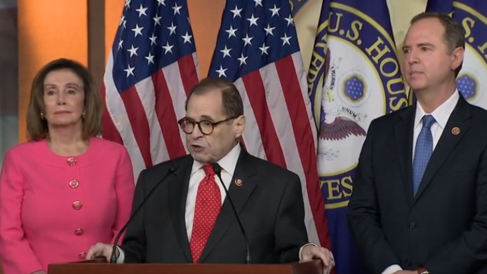 Impeachment Pelosi Nadler Schiff