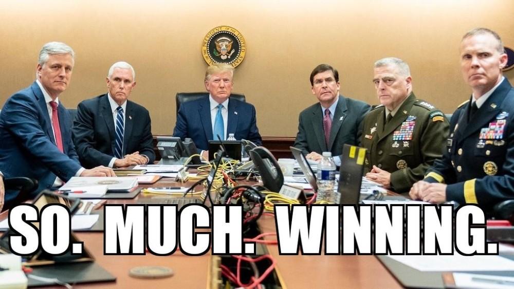 Trump So Much Winning Iran