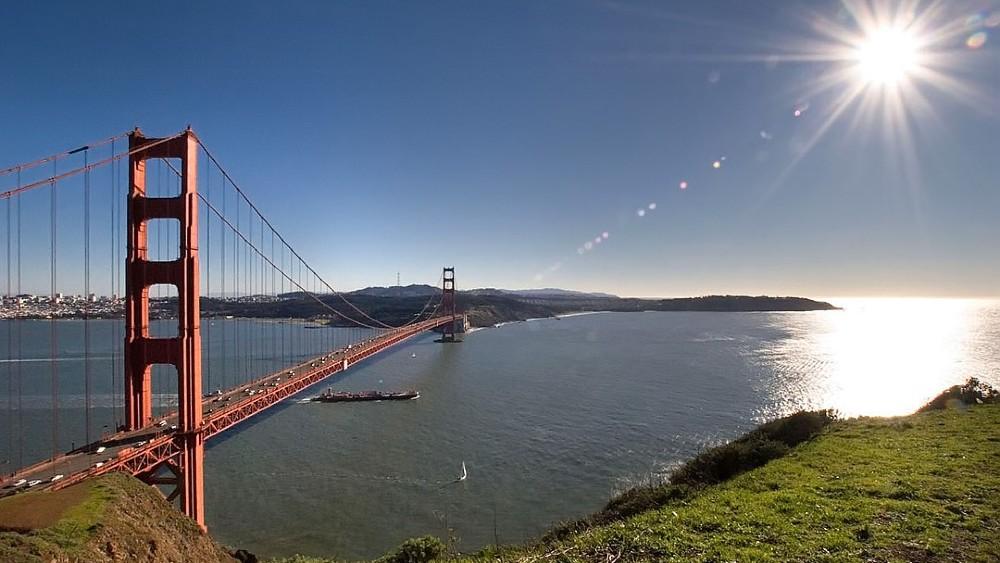 Golden Gate Bridge Marin County leftist
